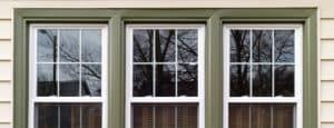 closeup of windows