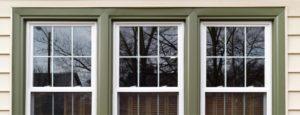 Exterior windows on home